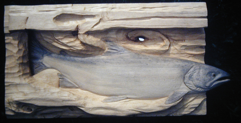 wood carving fish | eBay - Electronics, Cars, Fashion